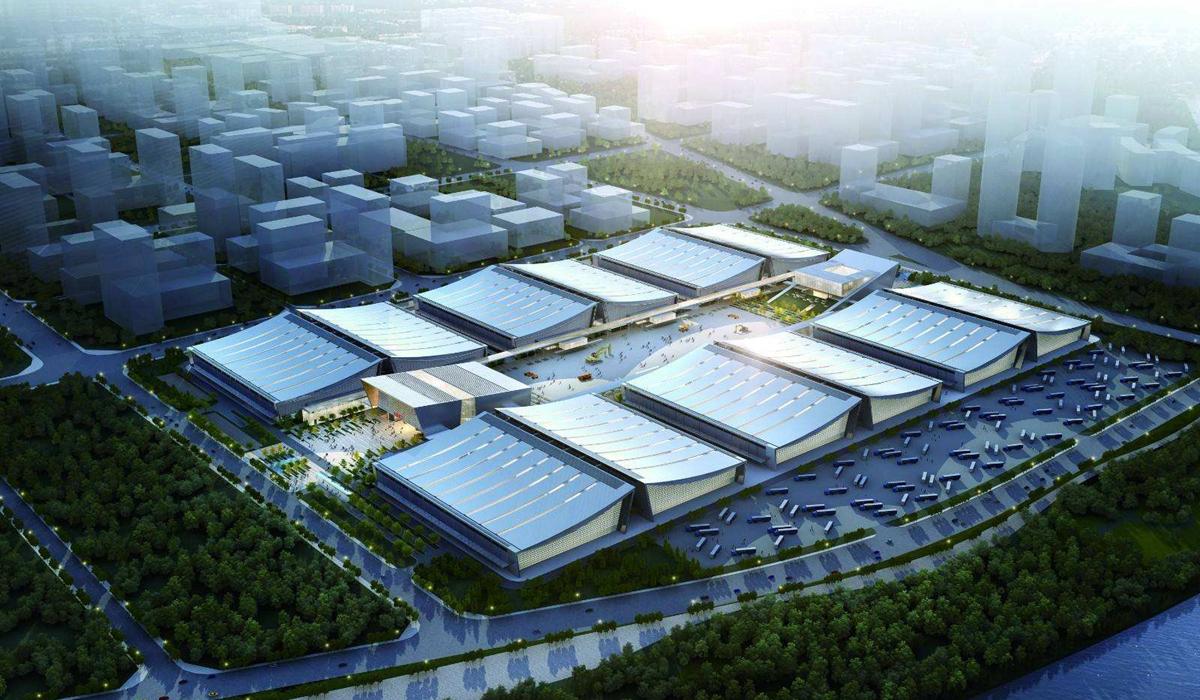 湖南国际会展中心六大展区喜迎宾朋