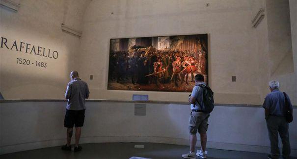 意大利:嚴格防疫下的拉斐爾紀念展