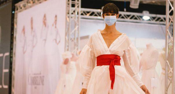 疫情下的婚紗展