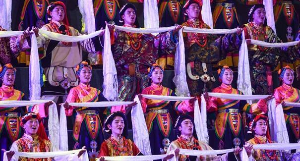 慶祝昌都解放70周年專場文藝晚會在昌都舉行