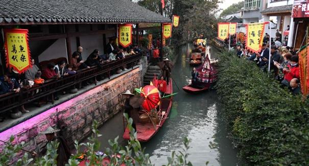 浙江湖州:魚文化節慶豐收