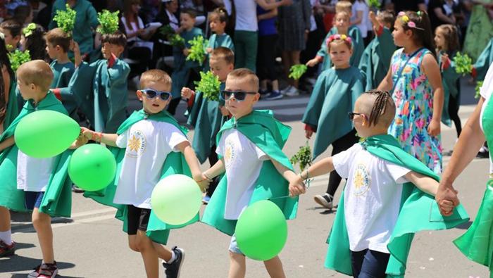 保加利亞卡讚勒克慶祝玫瑰節