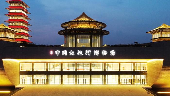 中國大運河博物館試燈