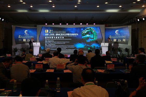 第二屆中國(長沙)國際礦物寶石博覽會高峰論壇舉行