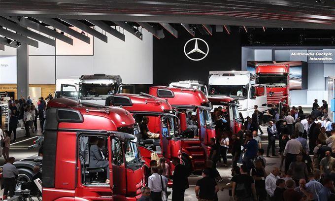 2018漢諾威國際商用車展正式開幕