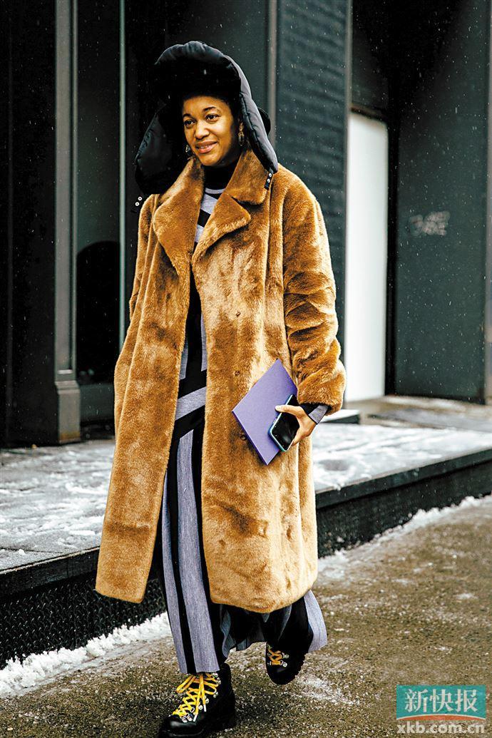 毛绒绒是冬天最温暖的标配