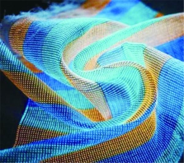柔性织物显示技术让衬衫瞬间变屏幕