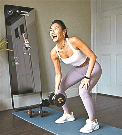 云教练在线指导 智能健身设备助力
