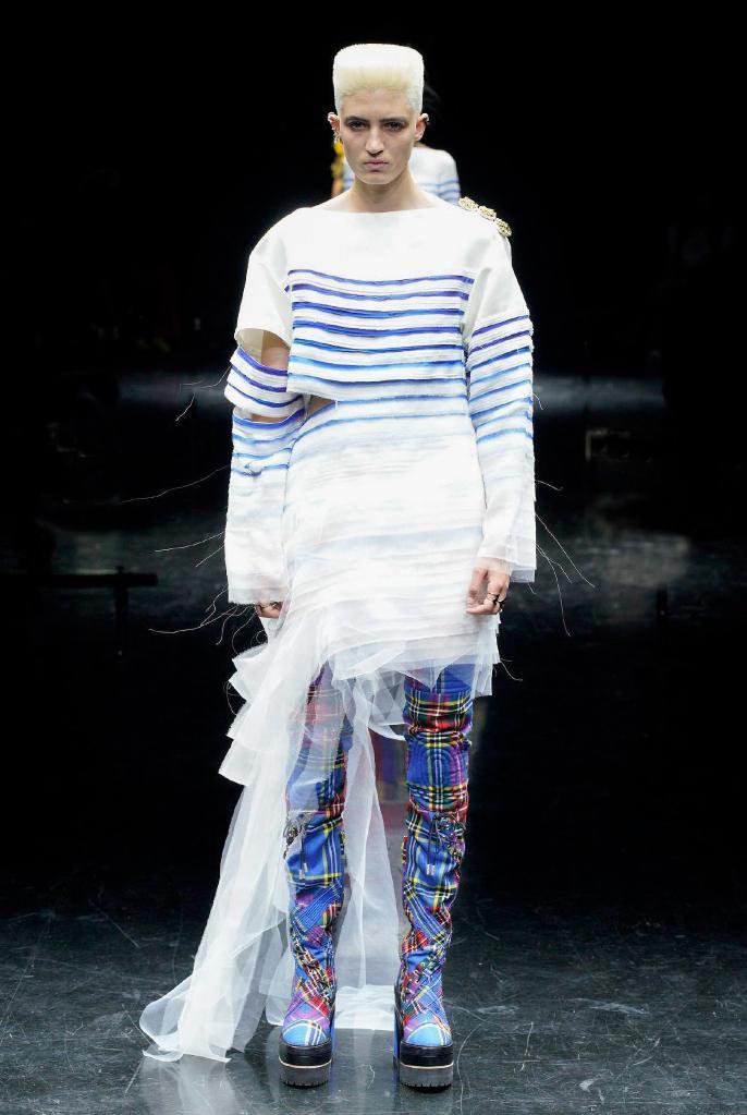 巴黎时装周:让·保罗·高缇耶品牌发布秋冬高级定制新品