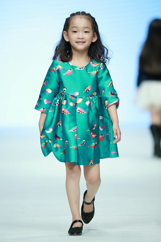 2016春夏系列中国国际时装周 小童星时尚秀