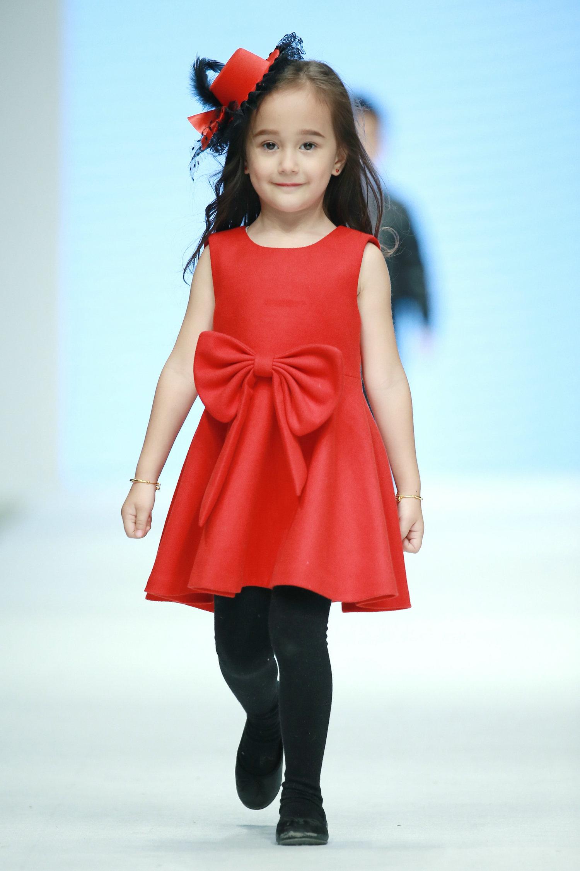 2016春夏系列中国国际时装周 潮童星·童模风尚