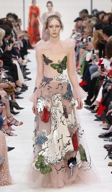 巴黎时装周——华伦天奴品牌时装秀