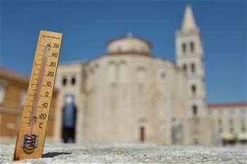 克羅地亞迎來高溫天氣