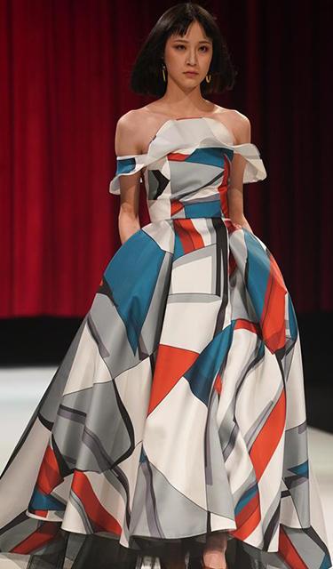 第三屆中國生態環保面料設計大賽時尚秀在江蘇蘇州舉行