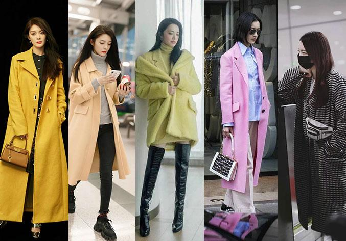 大衣不会挑?姚晨、迪丽热巴、孟美岐这几款大衣最时髦!