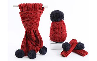 个性化时尚围巾深受消费者欢迎