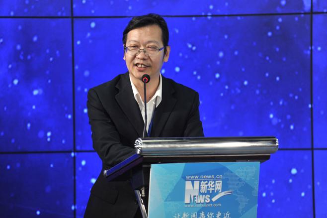 新華網副總裁、財經總監 楊慶兵