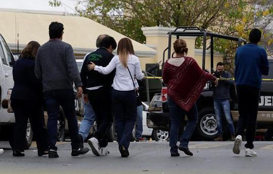 墨西哥校園槍擊事件致1死4傷