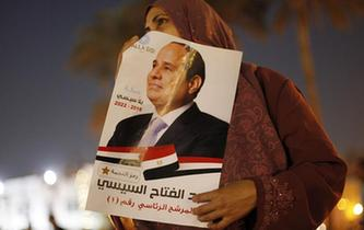 埃及總統塞西獲得連任