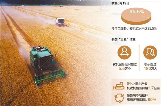探访粮食生产一线:新技术带来生产方式新转变