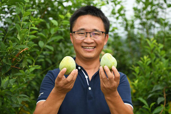 重慶渝北:仙桃李美了環境富了民