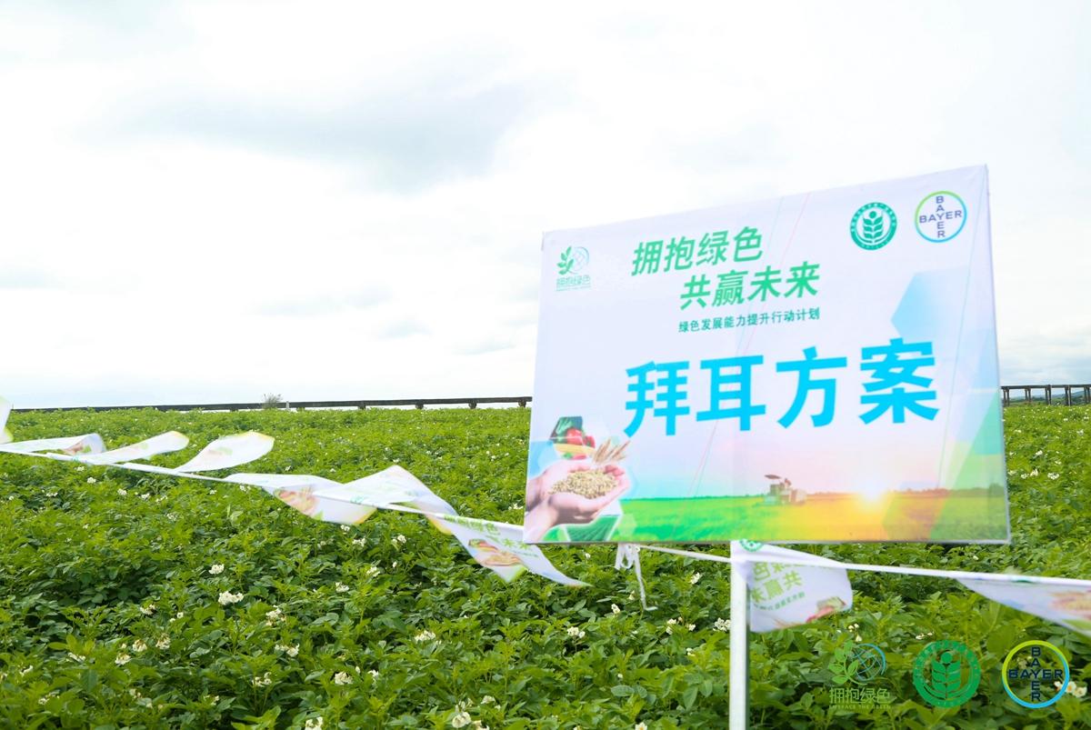 """""""擁抱綠色""""公益活動2020全年收官雲南,拜耳堅定助推農業綠色發展"""