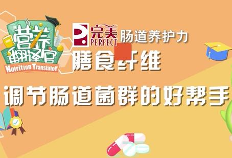 《營養翻譯官》之完美腸道養護力:膳食纖維 調節腸道菌群的好幫手