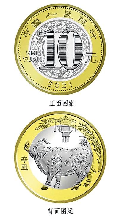 央行将29日发行贺岁普通纪念币一枚