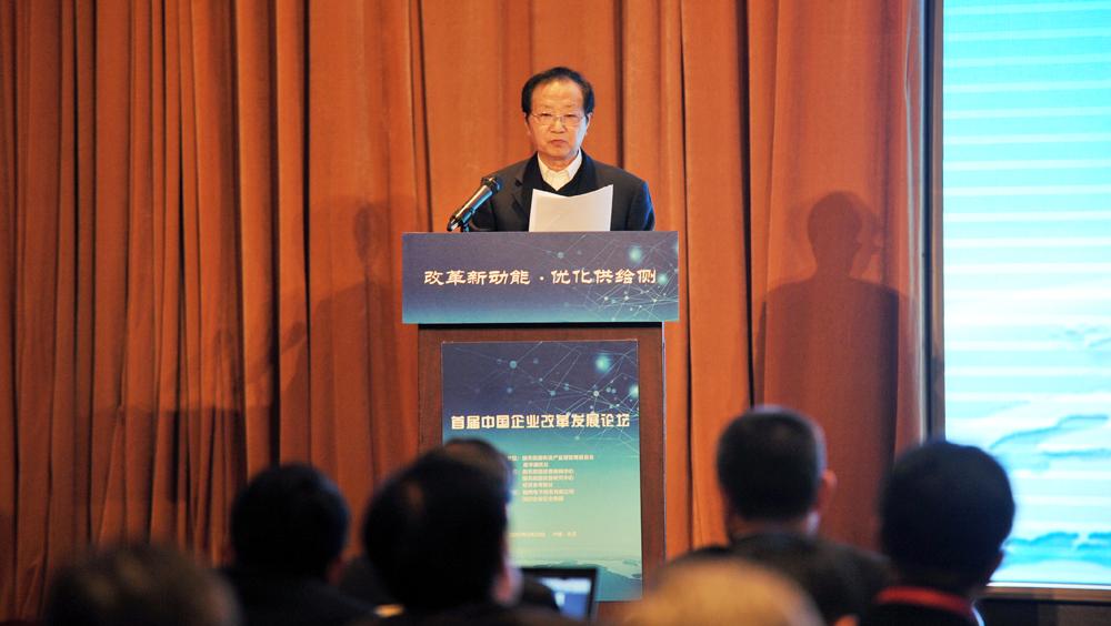 國務院發展研究中心原副主任陳清泰演講