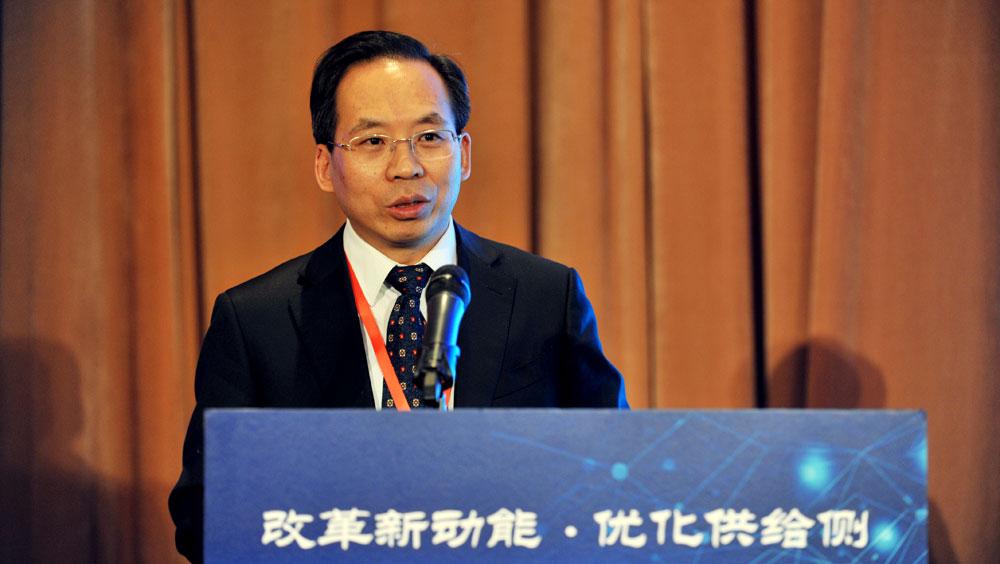 中國財政科學院院長劉尚希演講