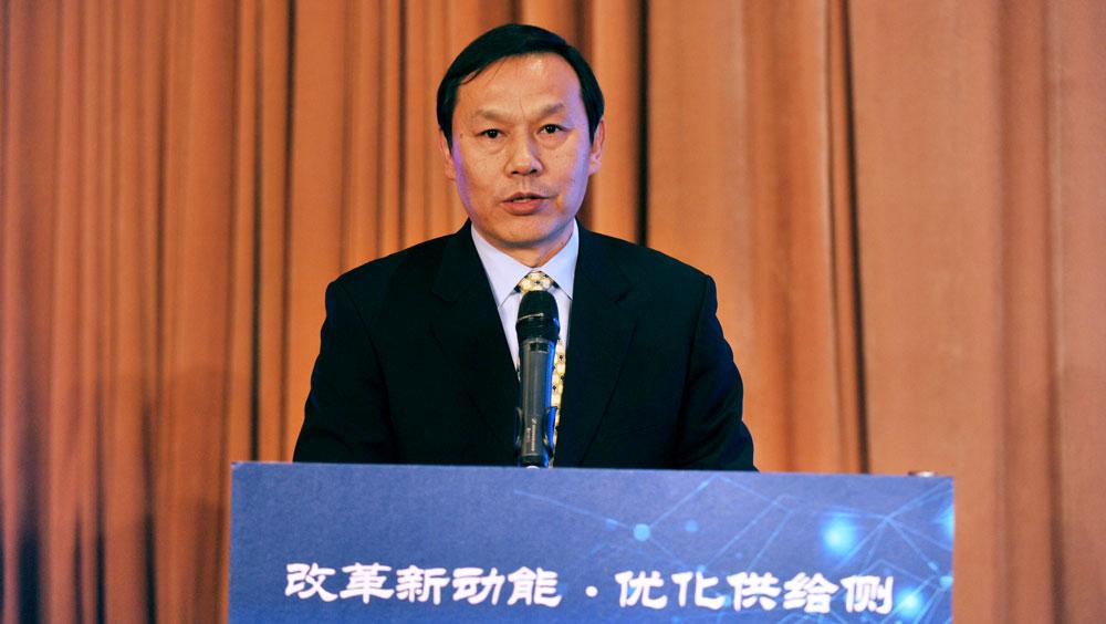 寶武鋼鐵集團董事長馬國強就《以改革重組推動供給側改革的寶武實踐》發言