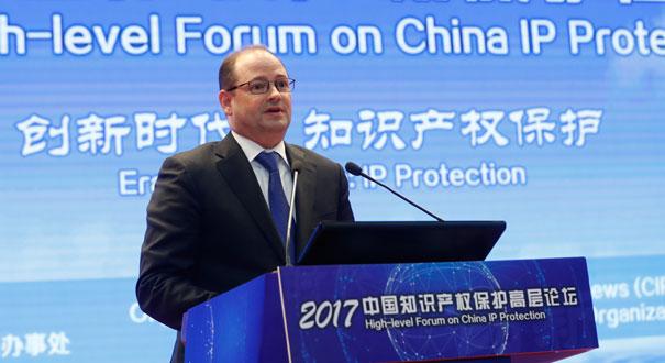高通斯奈德讚賞中國保護知識産權