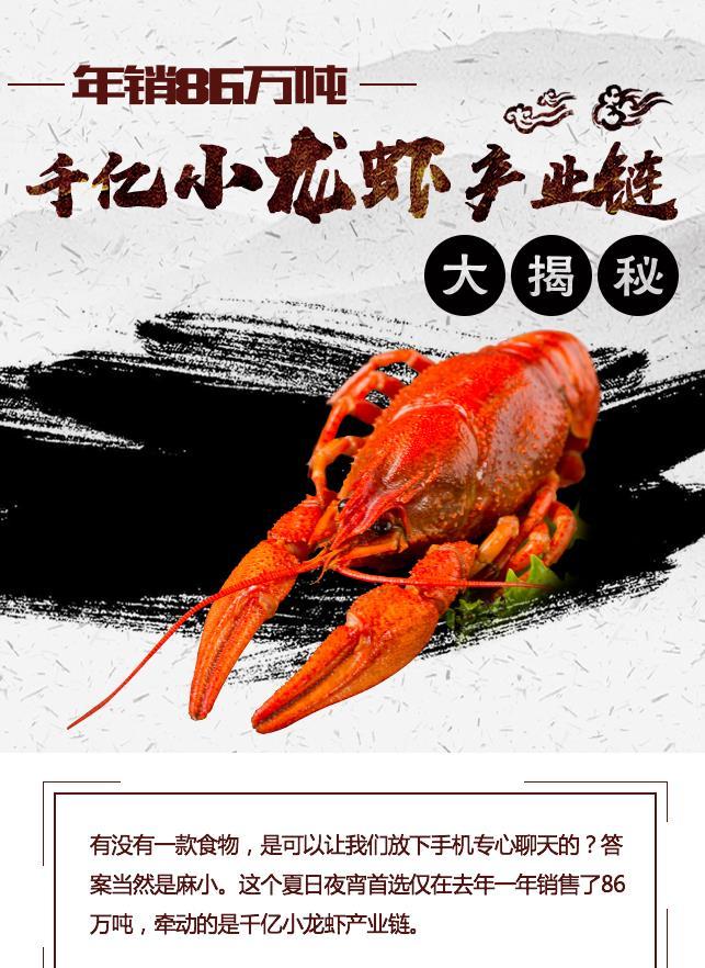 年銷86萬噸 千億小龍蝦産業鏈大揭秘