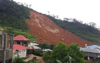 塞拉利昂首都洪水和泥石流遇難人數升至300余人