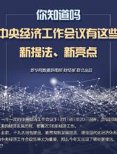 中央經濟工作會議有這些新提法、新亮點