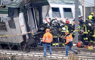 意大利北部一列車出軌致4人死亡