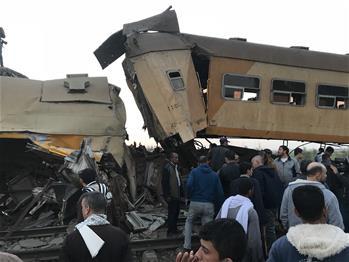 埃及北部火車相撞造成至少16人死亡