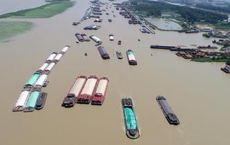 臺風減弱 洪澤湖解除封航