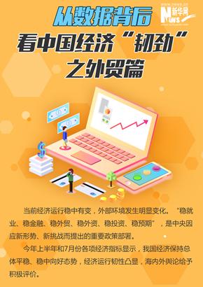 """從數據背後看中國經濟""""韌勁""""之外貿篇"""