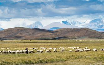 西藏日喀則美景如畫