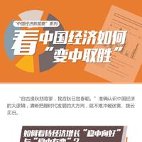 """看中国经济如何""""变中取胜"""""""