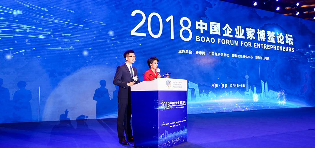 """""""2018中國企業家博鰲論壇""""現場"""
