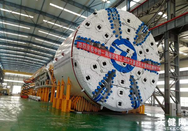 """""""超級穿海""""工程大盾構將穿越黃海海域岩溶地層"""