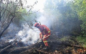 應急管理部:金河火場外線明火已全部撲滅