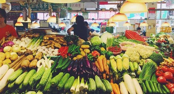 """""""菜篮子""""价格追踪:猪肉价稳了 蔬菜水果都降了"""