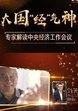 """大國""""經""""氣神——專家解讀中央經濟工作會議"""