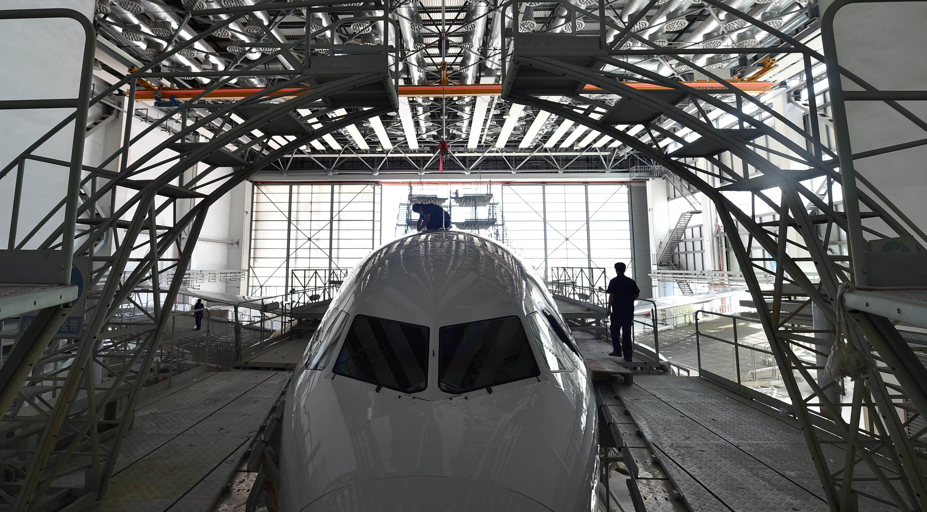 政策創新助力航空制造維修産業集聚發展