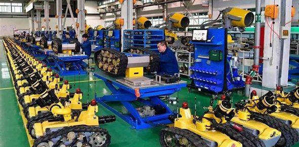 工業生産回歸正軌 新興産業逆勢增長