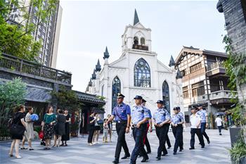中意在重慶開展聯合警務巡邏