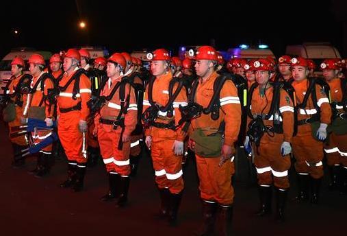 中煤擔水溝煤業冒頂事故已經核實10人被困